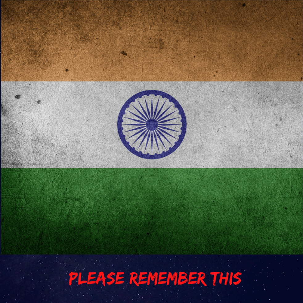 All Indians, please remember this - ataraxissoul